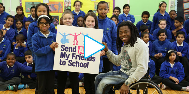 """World leaders must prioritise the needs of children with disabilities NOW."" Ade Adepitan, broadcaster, Paralympic medallist and disability campaigner"