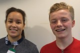 George and Emily, Young Ambassadors 2015