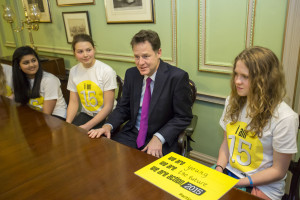 image - action2015 young peole talk to Clegg